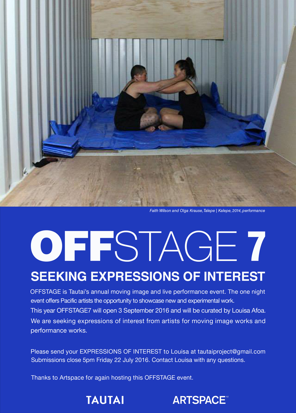 OFFSTAGE_Poster