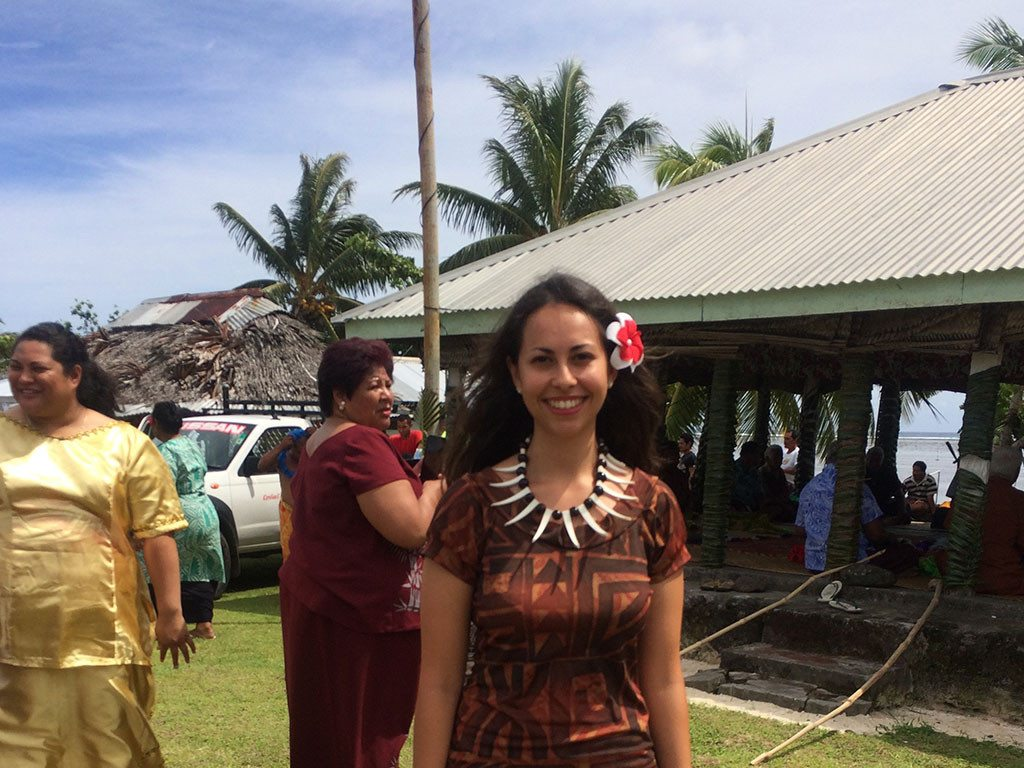 Image provided by Sarah Maiava, one of the recipients of the 2017 CNZ Pasifika Internship