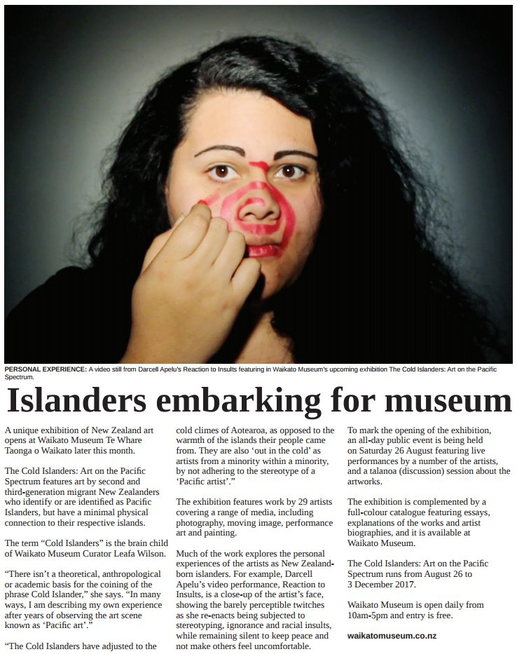 The Cold Islanders - Waikato Museum