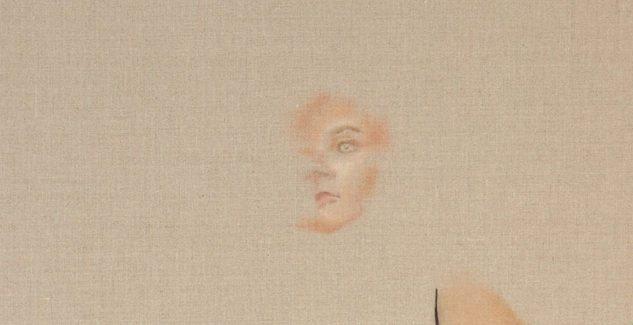 Angela Tiatia (2017), 'Invisibleness', oil on linen, 153 x 117 cm